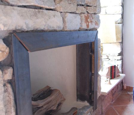 Detail cheminee
