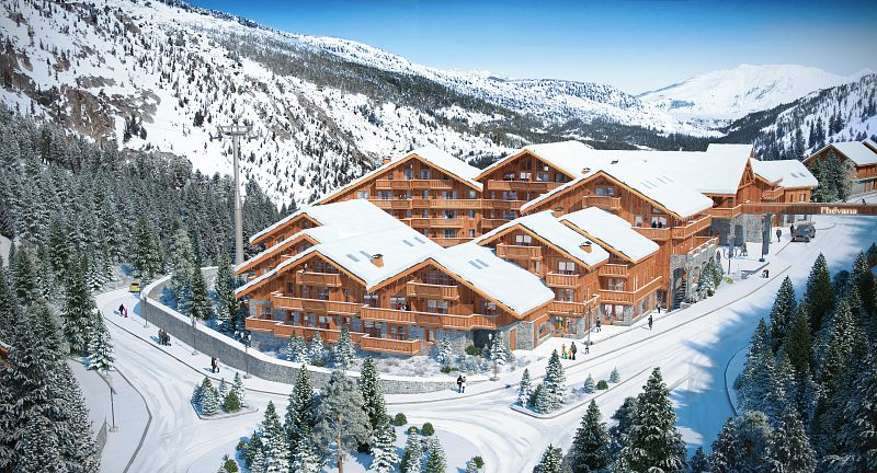 95 apartments in Meribel