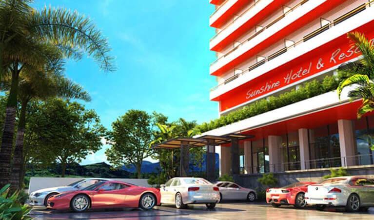 Cambodge / Sihanoukville / Sunshine Hotel & Resort